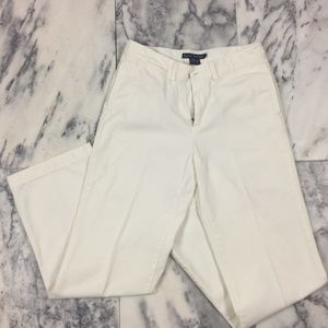 Ralph Lauren White, Straight-leg Denim Pants, Sz 2